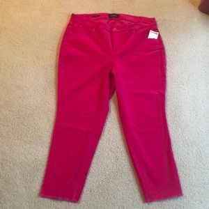 Talbots Corduroy Crop Pants